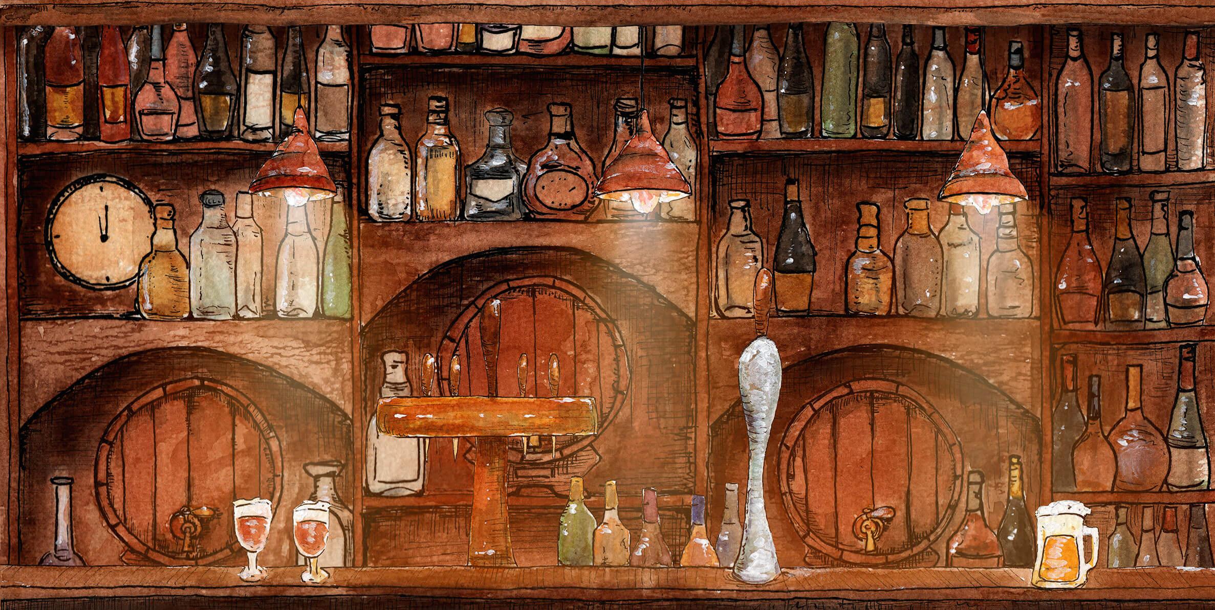 Backdrop bars Vana Events